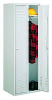 Металлический шкаф гардеробный Sum 320 Литпол - сварная конструкция