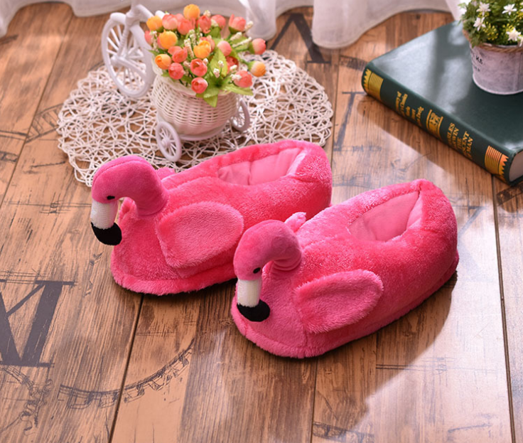 Тапочки-игрушки Фламинго закрытые  440 грн. - Капці b26bcd856e41e