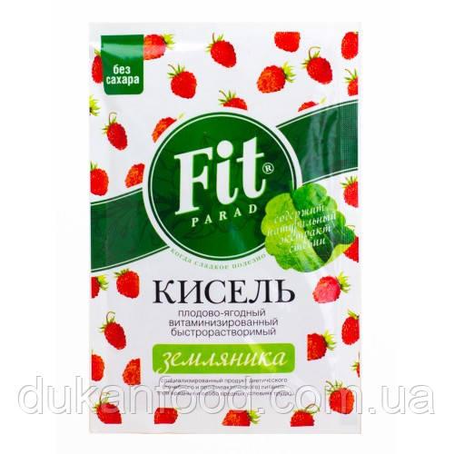 Кисель витаминизированный ФитПарад ЗЕМЛЯНИКА