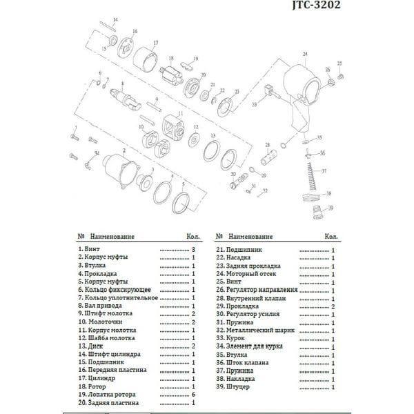 Молоток для 3202 (3202-10 JTC)