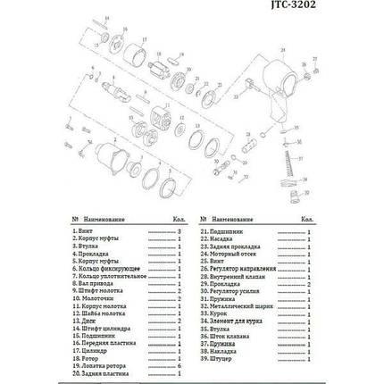 Молоток для 3202 (3202-10 JTC), фото 2