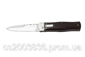 Нож из кинофильма Джеймс Бонд (Mikov), рукоять из дерева палисандр