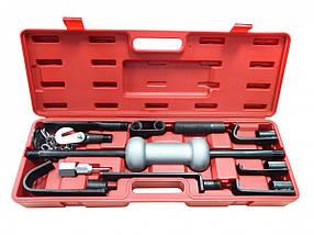 Молоток обратный для кузовных работ с набором насадок 9 ед.в кейсе, F-665B FORSAGE