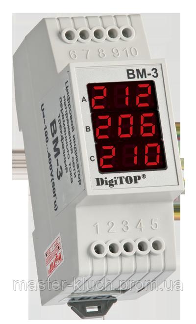 DigiTop Цифровой вольтметр ВМ-3