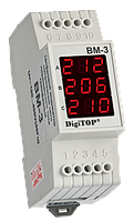 DigiTop Цифровой вольтметр ВМ-3, фото 1