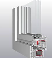 6-ти камерное окно Schuco Шуко 1600*1900мм