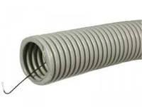 Труба гофрированная ПВХ D25 мм с зондом (50 м)