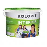 Водно-дисперсионная краска Kolorit (Колорит) Interior 10 л (EKO)