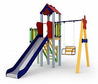 Детский комплекс Праздник, высота горки 1,5 м KIDIGO™