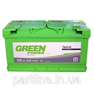 Аккумулятор Green Power 6СТ-90, пусковой ток 780En, 352х175х190, гарантия 24 мес., стандарт класс