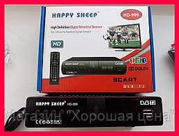 Цифровой ресивер тюнер T2 Happy Sheep HD-999!Опт