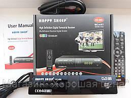 Цифровой ресивер тюнер T2 Happy Sheep HD-888!Опт