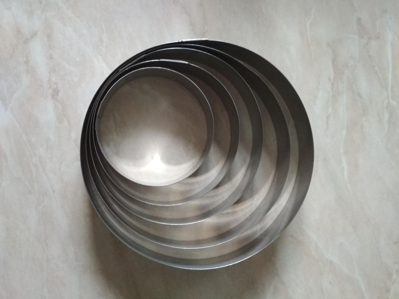 Кольцо для гарнира и десертов 20 см, высота 2,5 см