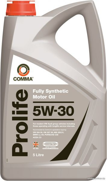 Синтетичне моторне масло Comma PROLIFE 5w-30