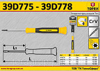 Отвертка прецизионная Torx T7,  TOPEX  39D777
