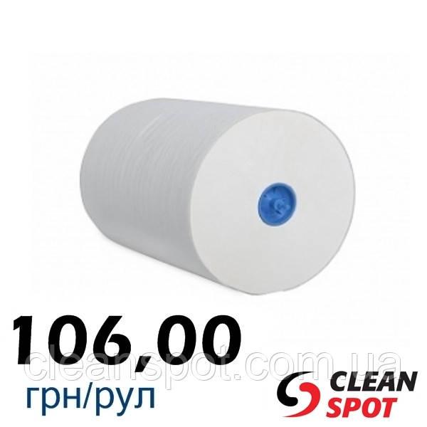 Бумажные полотенца в рулоне Automatic белые одношаровые Mini