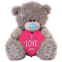 Мишка Teddy с сердцем I Love You 11 см АР401002