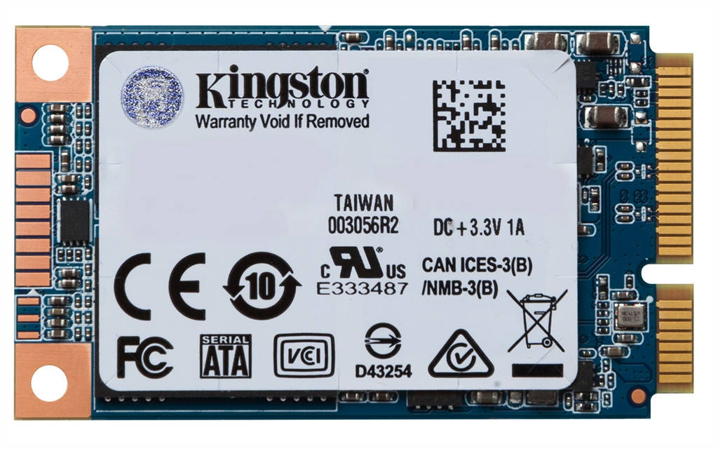 SSD  240GB Kingston UV500 mSATA SATAIII 3D TLC (SUV500MS/240G)