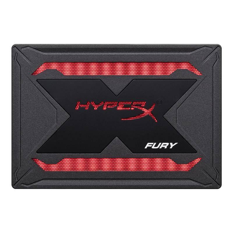"SSD  480GB Kingston HyperX Fury RGB 2.5"" SATAIII 3D TLC (SHFR200/480G)"