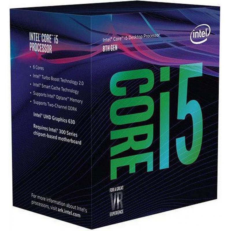 Процессор Intel Core i5 8600K 3.6GHz (9MB, Coffee Lake, 95W, S1151) Box (BX80684I58600K) no cooler