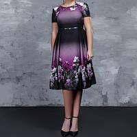 Платье Verezhik House 44 Фиолетовое (858В44)