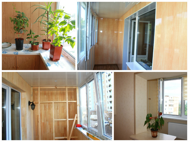 Балконы после ремонта: фото
