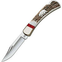 "Нож Buck ""Folding Hunter"" WBC Grizzly Bear (110EKSLE4B)"