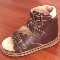 """Ортопедичне взуття  дитяче  Босоніжки для хлопчика Ортекс  """"Весна""""."""