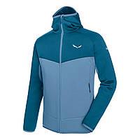 Куртка флисовая Salewa Puez 3 PL M FZ HDY 26326 8921 - 48/M Синий (gaf3zb)
