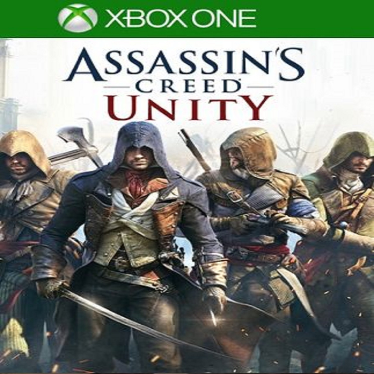 Assassin's Creed: Unity (русская версия) XBOX ONE (Б/У)