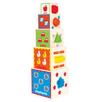 Деревянная игрушка Пирамида для игры Hape