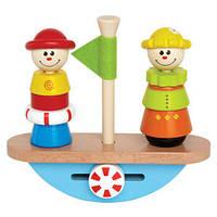 Деревянная игрушка Корабль - качалка Hape