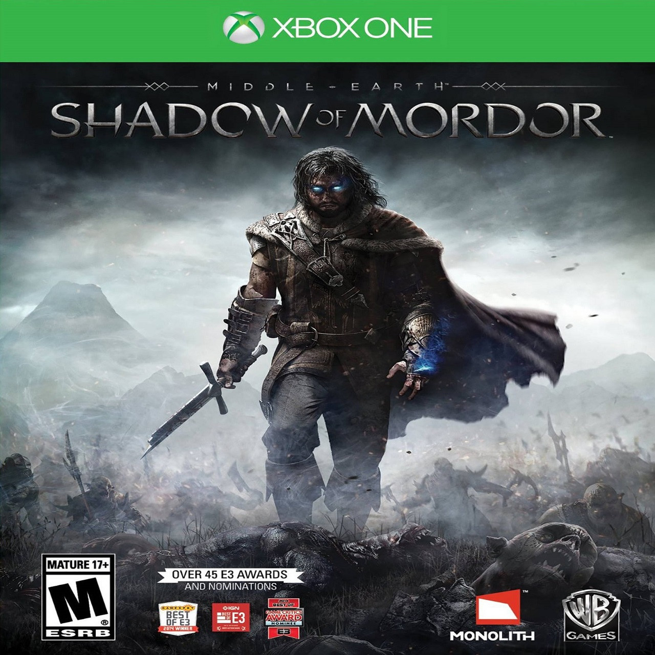Middle-earth: Shadow of Mordor (русские субтитры) XBOX ONE (Б/У)