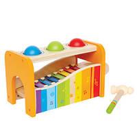 Деревянная игрушка Ксилофон с шариками Hape