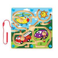 Деревянная игрушка Доска с магнитами - Авто Hape