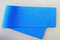 Силиконовый текстурный коврик мат, размер 40х9