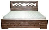 Кровать двуспальная Лиана 160х200 с ламелями.