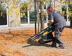 Воздуходувка листьев 3000W 3в1 POW63172, фото 3