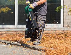 Воздуходувка листьев 3000W 3в1 POW63172, фото 2