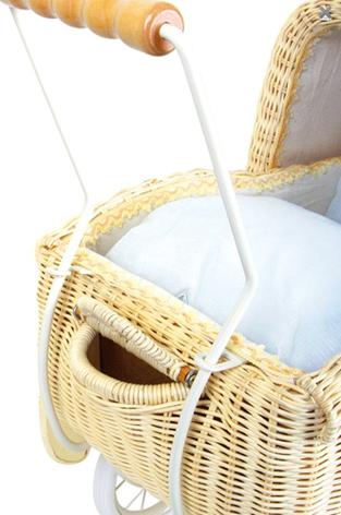 Коляска для кукол плетеная Tania, фото 2