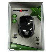 Беспроводная мышка Maxxtro Mr-306bk(Распродажа!!!) black  USB