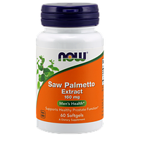 Препарат для мужского здоровья NOW Saw Palmetto (160 мг) (60 капс)