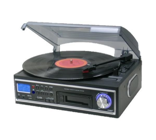 Програвач магнітних стрічок VINYL TURNTABLE PLATE з MP3 USB SD