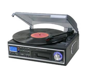 Програвач магнітних стрічок VINYL TURNTABLE PLATE з MP3 USB SD, фото 2