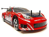 Машинка на радиоуправлении с бесколлекторной системой Дрифт DRIFT красная (машинки на пульте управления), фото 1