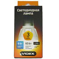 Лампочка  светодиодная Videx G45  6W E27 4100K (VL-G45-06274)