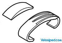 Пластина та гумова підкладка Shimano SM-CD50