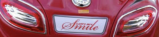 Дитячий кабріолет червоного кольору, фото 3