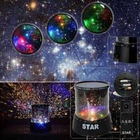 Ночник (проектор ночного неба) Star Master Black!Скидка