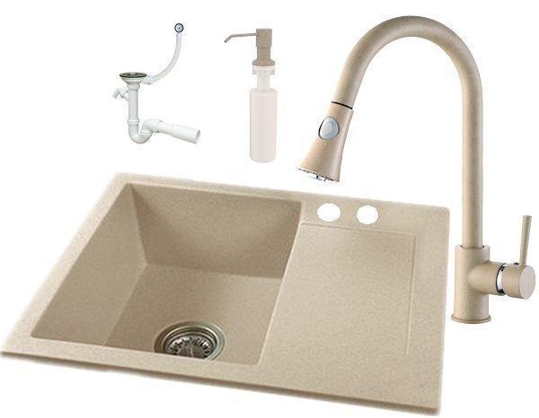 Кухонна мийка Granitan Snake